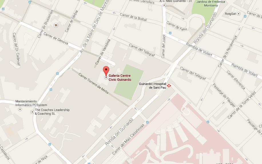 Google Maps Taller Guinardó Raconet